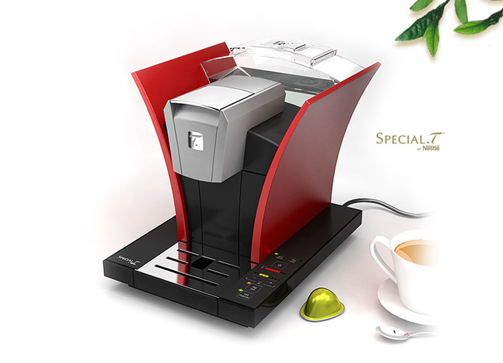 Tea brewing machine nestle special t - Machine a the special t ...